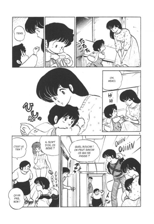 Maison Ikkoku T9, manga chez Delcourt Tonkam de Takahashi
