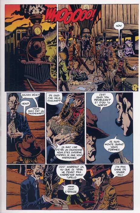Billy the Kid et la foire aux monstres, comics chez Wetta de Powell, Hotz