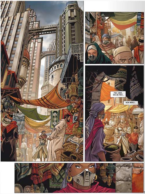 Uchronie[s] – Saison 1, T1 : New Byzance 1 (0), bd chez Glénat de Corbeyran, Chabbert