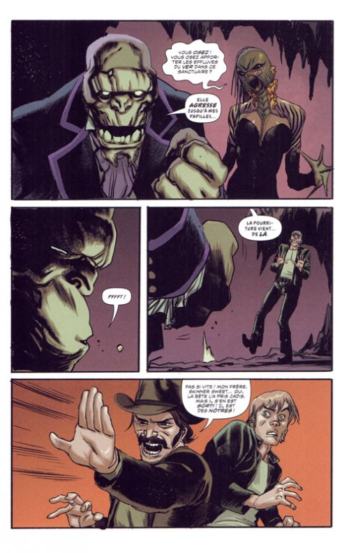 American Vampire T9 : Le grand mensonge (0), comics chez Urban Comics de Snyder, Albuquerque, McCaig