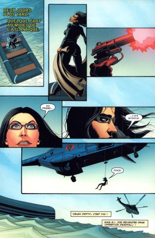 G.I. Joe Special Missions  : Crush depth (0), comics chez Vestron de Dixon, Gulacy, Aburtov, Hugues