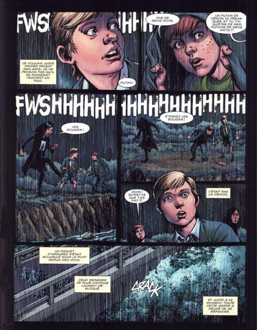 Hellblazer Rise and fall  T1, comics chez Urban Comics de Taylor, Robertson, Rodriguez, Bermejo