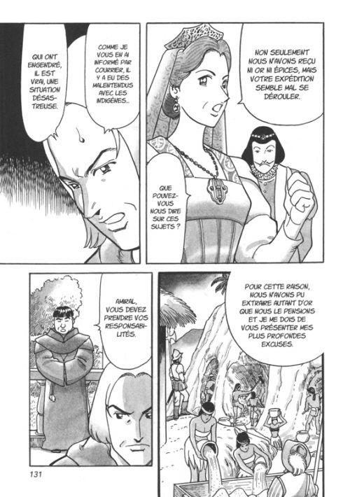 Christophe Colomb, manga chez Nobi Nobi! de Saguchi, Miyazoe