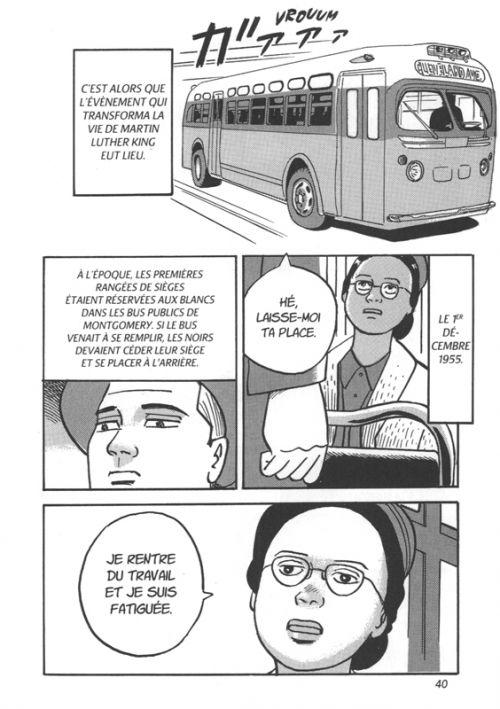 Martin Luther King, manga chez Nobi Nobi! de Hotta