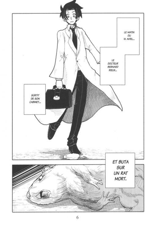 La peste T1, manga chez Michel Lafon de Kurumado, Camus
