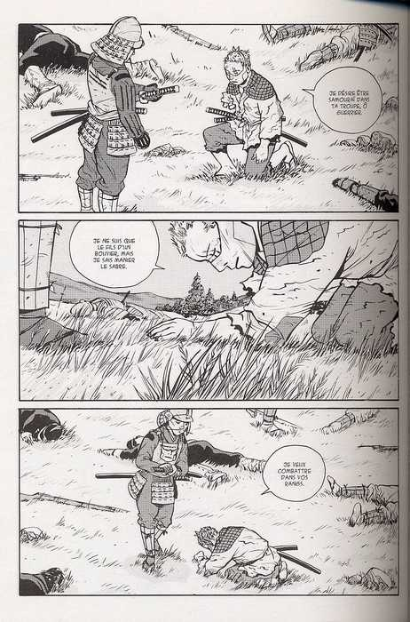 Tengu-Do T2 : Ronin (0), manga chez Les Humanoïdes Associés de Nikolavitch, Rossetto
