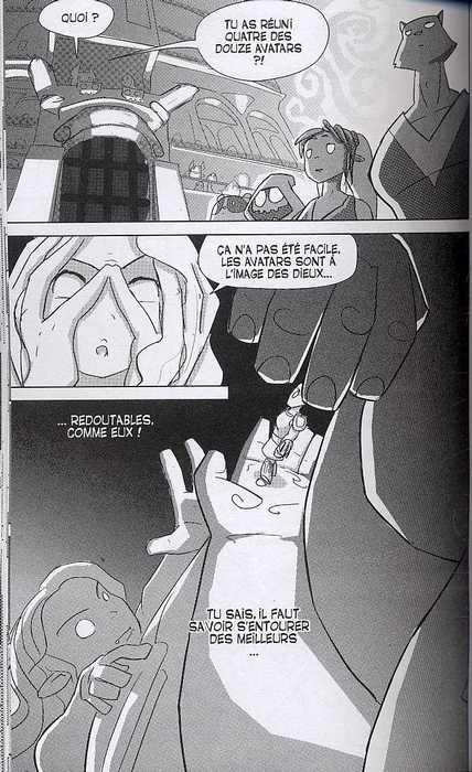 Dofus Arena T1 : Minuit et des poussières (0), manga chez Ankama de Devos, Bretzner