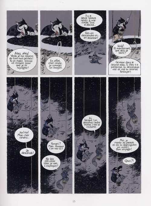 Le roman de Renart T2 : Le puits (0), bd chez Delcourt de Mathis, Martin