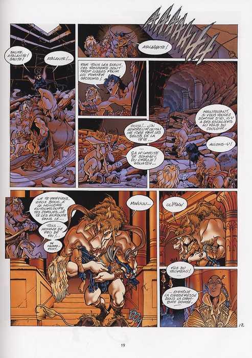 Atalante T3 : Les mystères de Samothrace (0), bd chez Soleil de Crisse, Besson