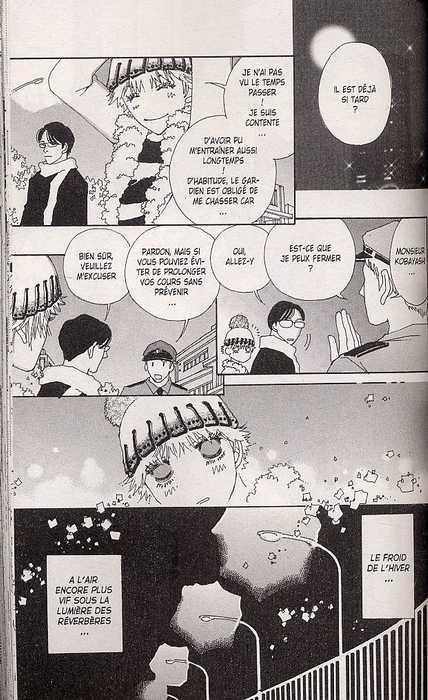Effleurer le ciel, manga chez Delcourt de Okazaki