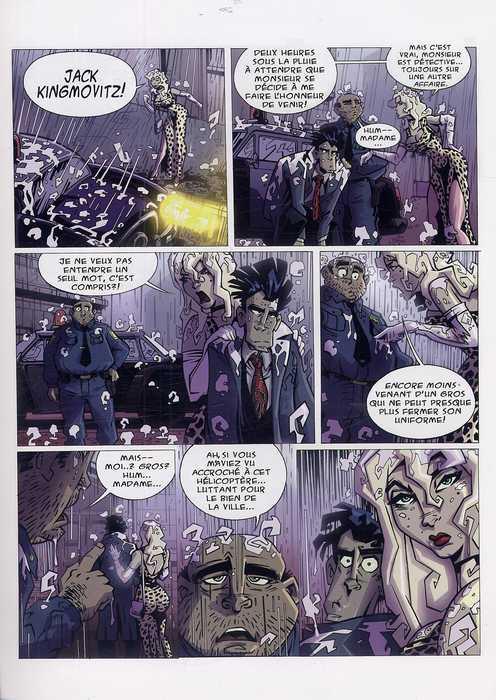 King Cop T1, comics chez Wetta de Saracino, Hechtenkopf, Sawa
