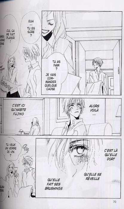 Nico says, manga chez Delcourt de Onozucca