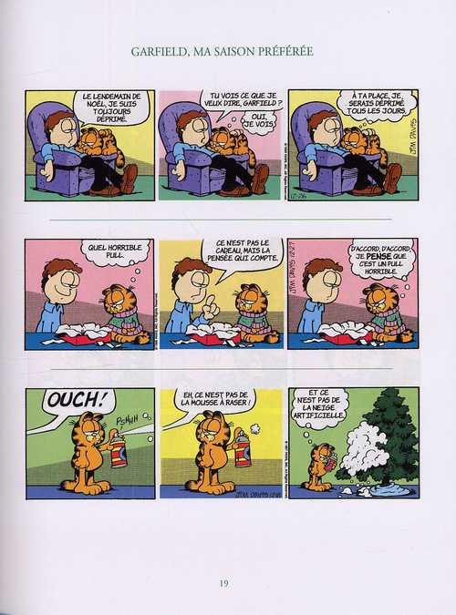 Garfield : Ma saison préférée (0), comics chez ViaMedias Editions de Davis