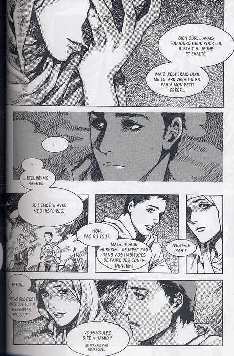 Naplouse T1, manga chez Casterman de Bo-hyun