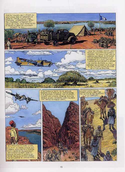 Biggles raconte T7 : la légende du général Leclerc (0), bd chez Le Lombard de Guillou