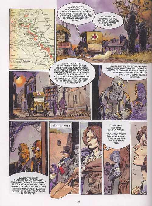 Les sentinelles T1 : Juillet-Août 1914 - Les moissons d'acier (0), bd chez Delcourt de Dorison, Breccia