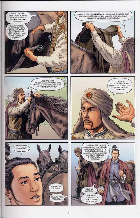 L'âme du samouraï T2 : Par delà les mers (0), comics chez Delcourt de Marz, Ross, Schwager