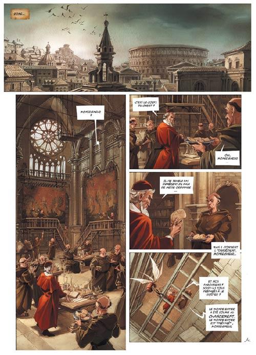 La licorne T2 : Ad naturam (0), bd chez Delcourt de Gabella, Jean