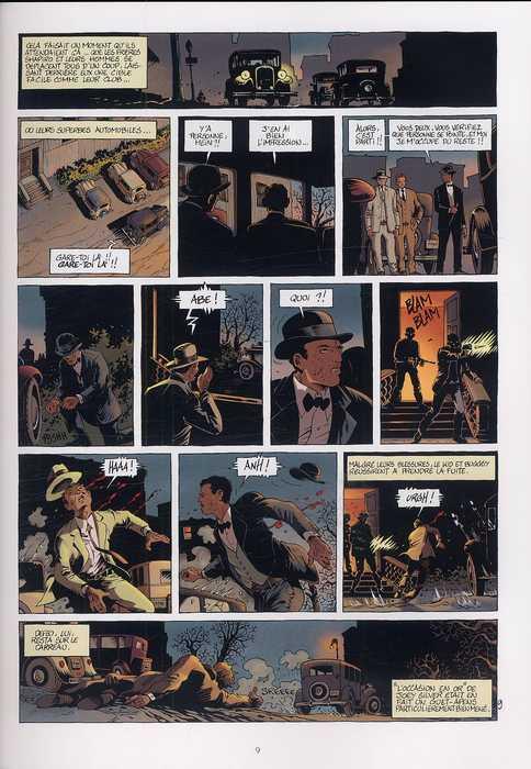 Mafia Story T3 : Murder inc. 1/2 (0), bd chez Delcourt de Chauvel, Le Saëc, Smulkowski
