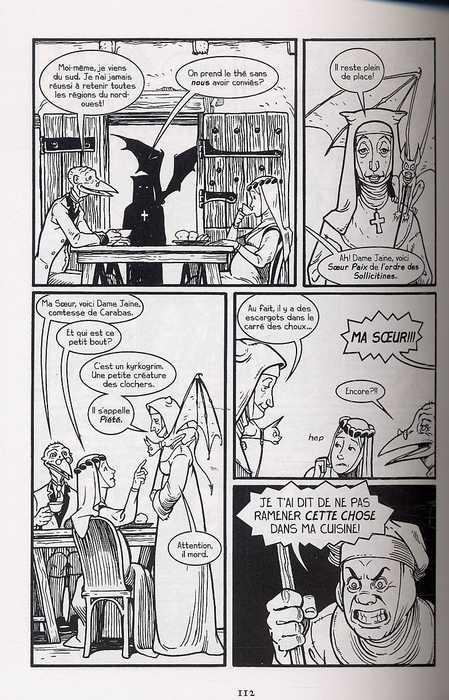 Château l'Attente T1, comics chez Delcourt de Medley