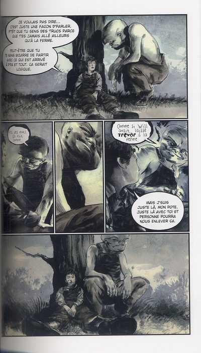 Freaks of the Heartland, comics chez Semic de Niles, Ruth