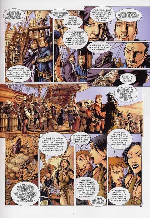 La geste des Chevaliers Dragons T2 : Akanah (0), bd chez Soleil de Ange, Briones, Paitreau