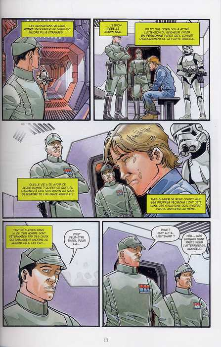 Star Wars - Rébellion T3 : Du mauvais côté (0), comics chez Delcourt de Hartley, Dalla vecchia, Fabbri, Domenico