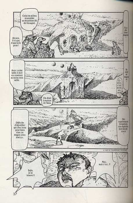 Chroniques d'Iblard, manga chez Milan de Inoue