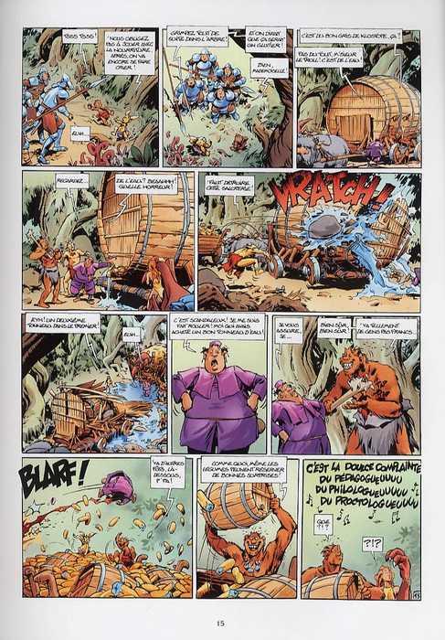 Trolls de Troy T7 : Plume de sage (0), bd chez Soleil de Arleston, Mourier, Guth
