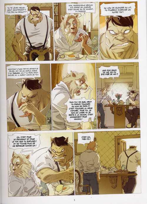 Léa Graslin T1 : Réveil sanglant (0), bd chez Xiao Pan de Moca, Ji An
