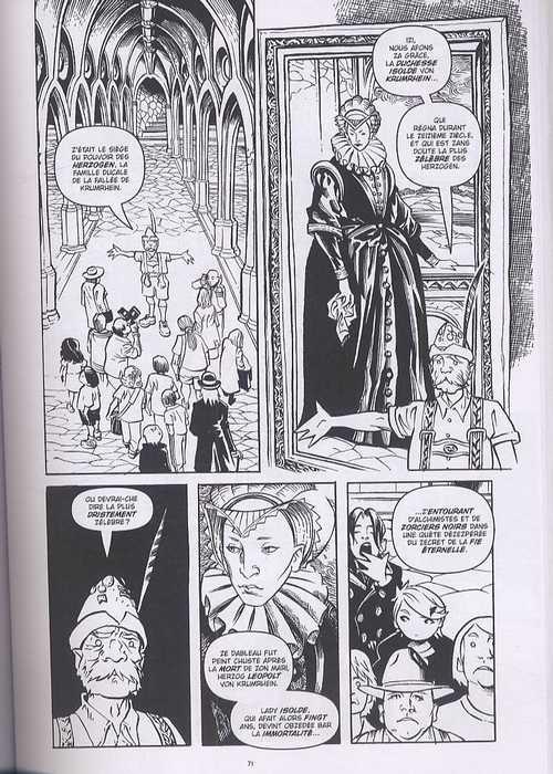 Courtney Crumrin – Edition Noir & Blanc, T4 : et les effroyables vacances (0), comics chez Akileos de Naifeh