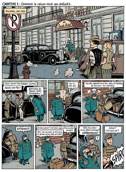 Le Spirou de... T4 : Le journal d'un ingénu (0), bd chez Dupuis de Bravo, Chedru