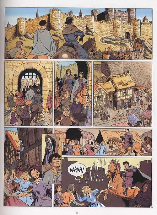 Les aigles décapitées T17 : Le châtiment du banni (0), bd chez Glénat de Arnoux, Fougère, Pierret
