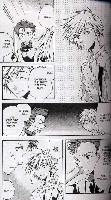 Neon-Genesis Evangelion The Iron Maiden 2nd T1, manga chez Glénat de Khara, Gainax, Hayashi