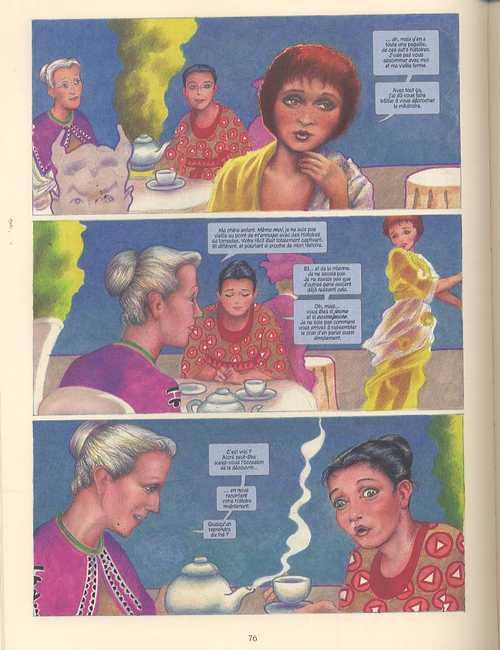 Filles perdues, comics chez Delcourt de Moore, Gebbie