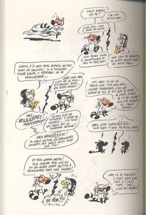 Journal intime d'un lémurien, bd chez Delcourt de Tarrin