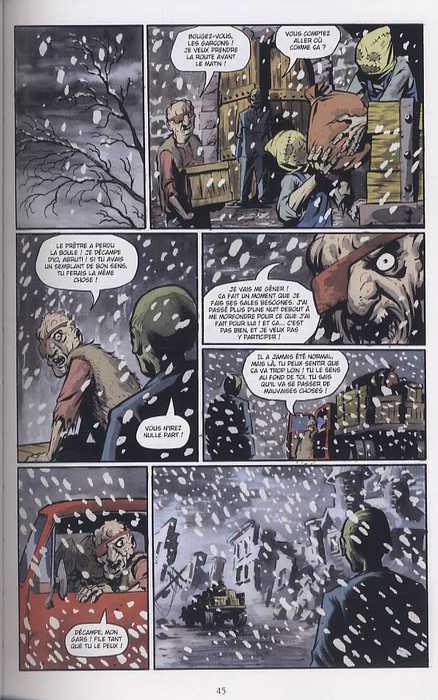 The Goon T5 : Fâcheuses tendances (0), comics chez Delcourt de Niles, Powell, Ploog, Hotz, Sook, Moore, Davis