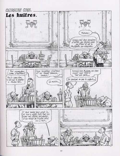 Carmen Cru T2 : La dame de fer (0), bd chez Fluide Glacial de Lelong