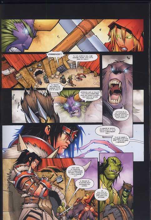 World of Warcraft T1 : En Terre Étrangère (0), comics chez Soleil de Simonson, Lullabi, Mayor