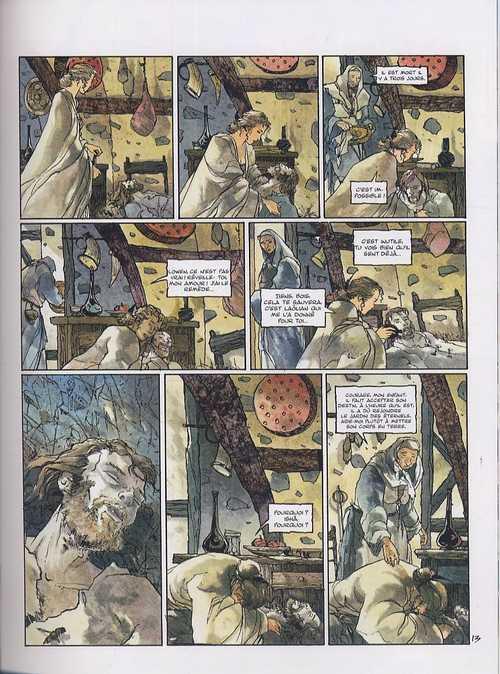 La prophétie des deux mondes T4 : La nuit du serment (0), bd chez Vent des savanes de Lenoir, Chabert