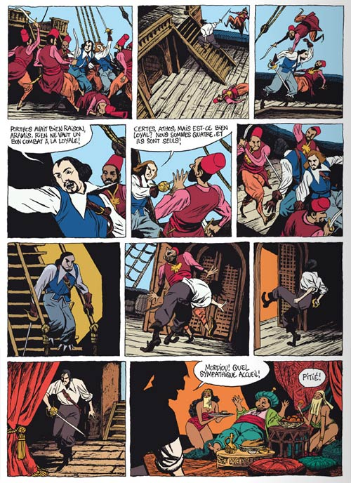 D'artagnan ! T1 : La sublime porte (0), bd chez Vents d'Ouest de Adam, Micol, Ruby