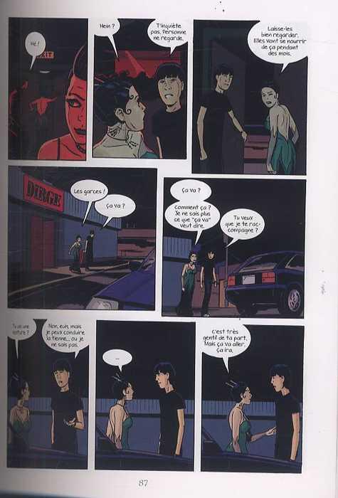 Ouvert la nuit, comics chez Dargaud de Soria, Abel, Pleece, Sycamore