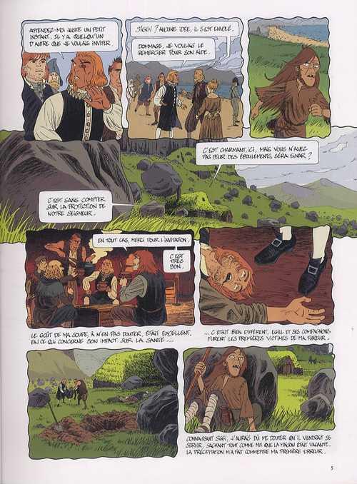 Islandia T3 : L'empreinte du sorcier (0), bd chez Dargaud de Védrines, Schwendimann