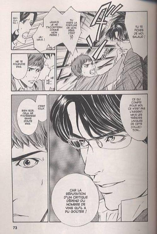 Les gouttes de Dieu T1, manga chez Glénat de Agi, Okimoto