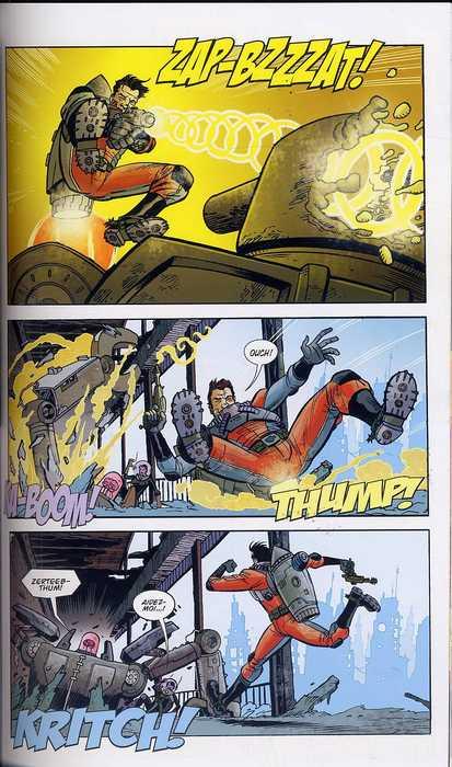Fear Agent T1 : Re-ignition (0), comics chez Akileos de Remender, Moore, Opeña, Loughridge