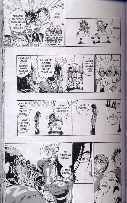 Eye Shield 21 T17, manga chez Glénat de Inagaki, Murata