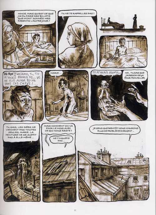 Le futuriste, bd chez Casterman de Cotte, Stromboni