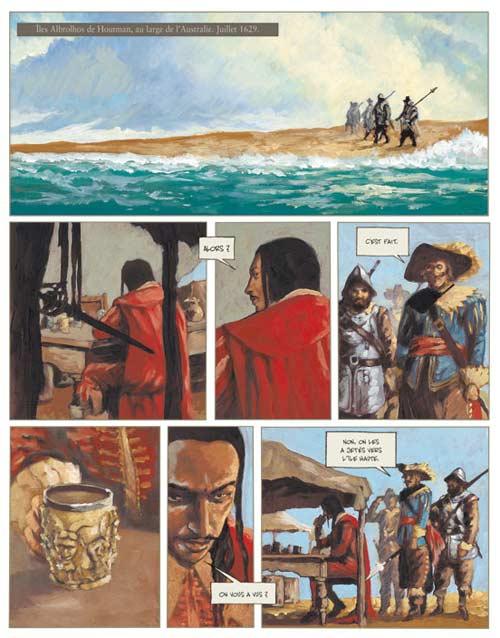 Jeronimus T1 : Un homme neuf (0), bd chez Futuropolis de Pendanx, Dabitch