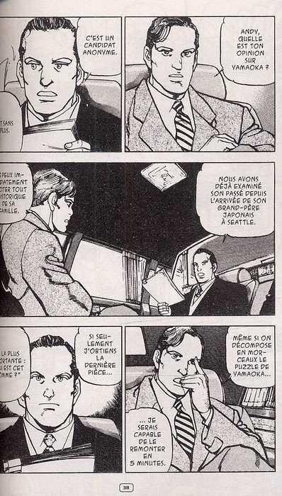 Eagle T2, manga chez Casterman de Kawaguchi