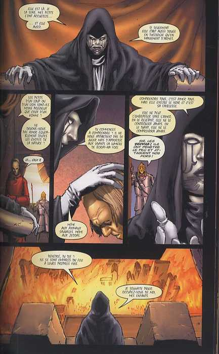 Red Sonja T1 : La malédiction de Gathia (0), comics chez Panini Comics de Carey, Oeming, Rubi, Isanove, Rodriguez
